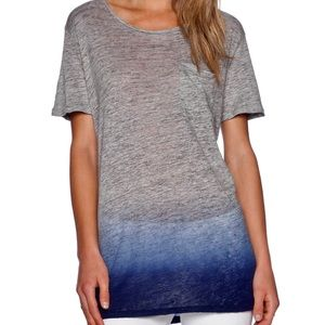 The Tomey Tunic In Iris Blue Dip - Barely Worn